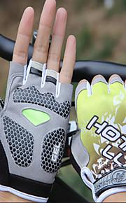 ri halv finger hanske (gul l code)