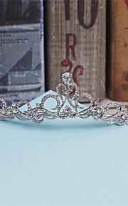 Women's Rhinestone / Alloy / Imitation Pearl Headpiece-Wedding / Special Occasion / Casual Tiaras 1 Piece