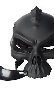 farve dobbelt anvendelse kraniet casco nyhed retro casque motorcykel halv ansigt hjelm