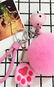 rex kani karvapallo soft käsilaukku avaimenperä