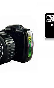 Other Plastik Mini Camcorder Mikrofon Sort 1.4