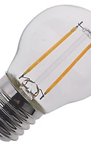 2W E26/E27 Ampoules Globe LED A50 2 COB 240 lm Blanc Chaud / Blanc Froid Décorative V 1 pièce