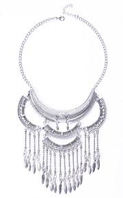 Modische Halsketten Ohne Stein Schmuck Hochzeit / Party / Alltag / Normal Quaste / Modisch / Euramerican Aleación Silber 1 Stück Geschenk