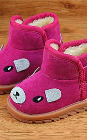Girl's Boots Others Fleece Casual Black Yellow Pink Fuchsia