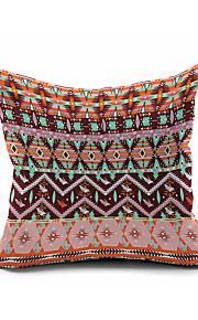 1 pcs Kilim Tribal Throw Case Cotton Linen Decorative 2 Sides Printing Modern Contemporary Pillow Cover