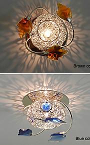 Plafonieră Cristal / LED / Stil Minimalist / Bec Inclus 1 bc