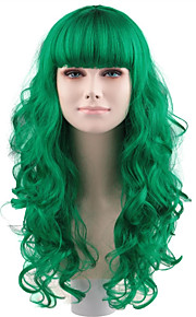 Darg Queen gree full lace long wigs with Bows