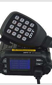 QYT Køretøjsmonteret Analog KT-8900DFM-radio Nødalarm Programmerbar med PC software Stemmekommando VOX baggrundslys Høj/lavstrømsskifter