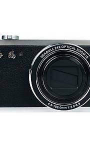seagull® ck101 klassiske digital kamera (sort)