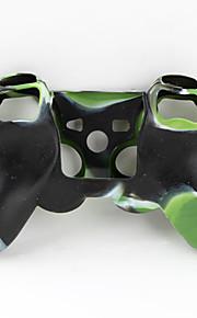 Защитный, силиконовый чехол для джойстика P3 (зеленый и черный)