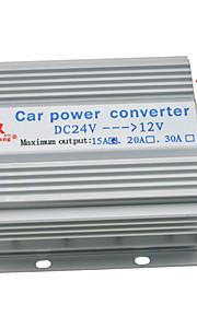 lastbil bil 15a 180W imput dc 24v til 12v output strømforsyning transformer konverter