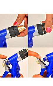el agua de lavado de coches cañones del hogar entero de cobre boquilla de flujo herramientas de jardín de agua de 20 m de tubería