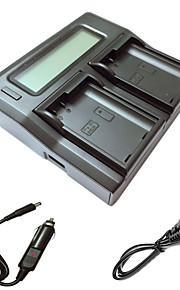 ismartdigi EL15 lcd dubbele lader met auto-oplaadkabel voor Nikon D7000 D7100 D7200 D750 D610 D800 D810 camera batterys