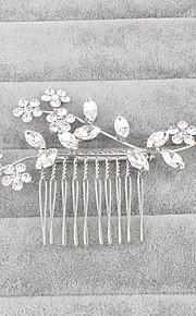 Damen Strass Kopfschmuck-Hochzeit Haarkämme 1 Stück