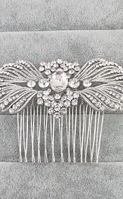Damen Strass Kristall Kopfschmuck-Hochzeit Haarkämme 1 Stück