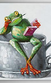 手描きの 動物 油彩画,Modern 1枚 キャンバス ハング塗装油絵 For ホームデコレーション