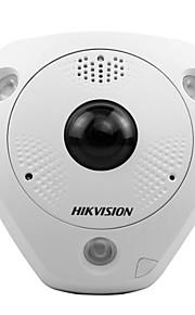 HIKVISION DS-2cd6362f-IVS 6 MP fiskeøje netværkskamera indendørs (vandtæt bevægelse detection15m ir PoE)
