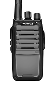Wanhua w3600 kommercielle professionelle trådløse walkie-talkie 6w uhf 403-470mhz