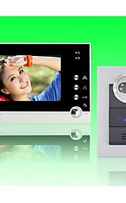 actop 7inch farvedisplay wired video doorphone for villasupport 1 til 2 skærm zy-316.210