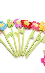 1Pcs   Curtain Clasps Clip Buckle Flexible Curtain Tieback Holdback Holder Cute Cartoon Flower