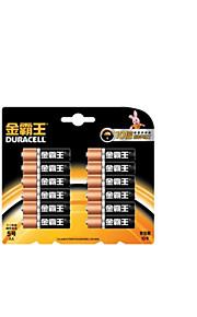 duracell AA alkaline batterij 1.5V voor de bloeddruk monitor / bloedglucosemeter / elektrisch speelgoed 12 pakken