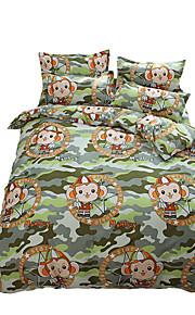 Betterhome  Reactive Printing Duvet Cover Sets Fashion Comfortable Series Bedding Four Sets