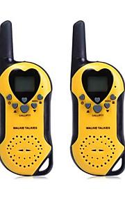 t5 2stk 22 UHF walkie talkie med lcd-skærm