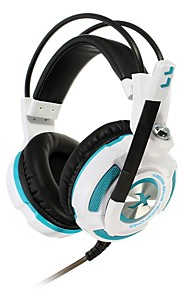 xiberia k3u gaming hoofdtelefoon virtueel 7.1 surround stereo bass lichte trilling gaming headset met microfoon hoofdtelefoon voor pc