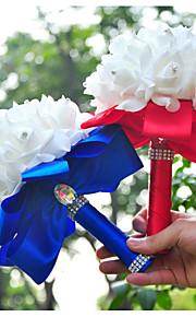 Свадебные цветы Круглый Розы Букеты Свадьба Партия / Вечерняя Поролон Около 20 см