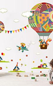 Animali Moda Forma Adesivi murali Adesivi aereo da parete Adesivi decorativi da parete,Vinile Materiale Decorazioni per la casaSticker