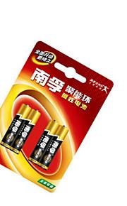 nanfulr03 AAA alkaline batterij 1.5V voor kinderspeelgoed / bloedglucosemeter / remote control / klok klok / muis toetsenbord accu 4