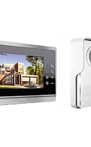 actop 7inch kapacitiv touch sceen video dørtelefon til villa