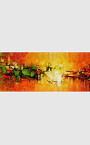 Håndmalte Abstrakt Horisontal,Moderne Et Panel Lerret Hang malte oljemaleri For Hjem Dekor