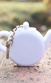 1pcs Teapot tape measuring keychain Beter Gifts® Birthday Tea Party Favor 5.3 x 4.5 x 1 cm/pcs
