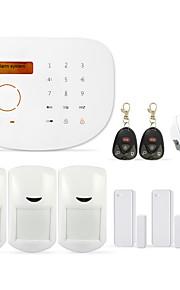 wireless home gsm alarmsysteem gs-S2G androidios app applicatie eenvoudig controltouchpad gsm alarmcentrale met woorden menu