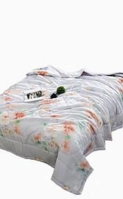 פרחוני שמיכות חוֹמֶר זוגי קווין 1 יחידה שמיכה