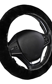 autoyouth luxe besturing dekt premium wol stuurhoes universele pasvorm 14-15 inch auto styling