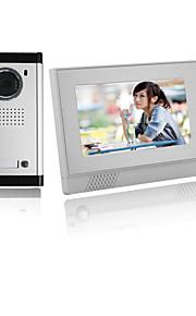 actop varme sælge høj kvalitet professionel sikkerhed 7 tommer farve lcd scren video dørtelefon med god stemme