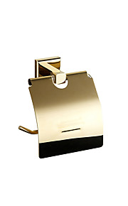 Toilet Paper Holders Modern Brass gold
