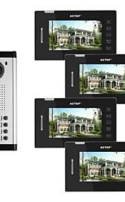 actop 7 tommer farve video wired metal de bedste systemer til bygninger sikkerhedsprodukt