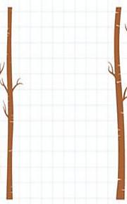 ботанический Наклейки Простые наклейки Декоративные наклейки на стены,Винил материал Украшение дома Наклейка на стену