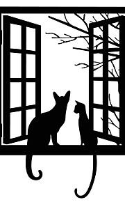 חיות אנימציה נוף מדבקות קיר מדבקות קיר מטוס מדבקות קיר דקורטיביות,ויניל חוֹמֶר קישוט הבית מדבקות קיר