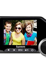Danmini 3.5inch tager billed og videooptagelse farve skærm peephole viewer