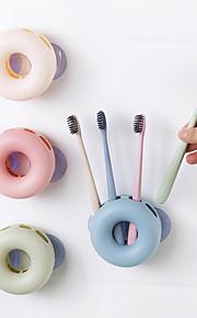 Life Buoy Type Wall Brush Rack (Random Colors)