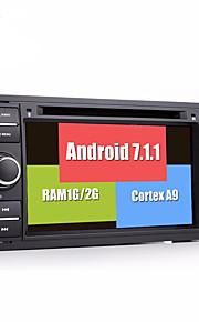 Bonroad android 7.1.1 nyeste 2g ram 32g rom gps bilnavigation dvd videospiller fo ford / mondeo / fokus / transit / c-max / s-max / fiesta