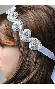 Polyester Headpiece-Wedding Special Occasion Casual Office & Career Outdoor Head Chain 1 Piece