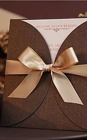 Personalisert Sjal & Lomme Bryllupsinvitasjoner Invitasjonskort-50 Stykke/Sett Moderne Stil Perle-papir
