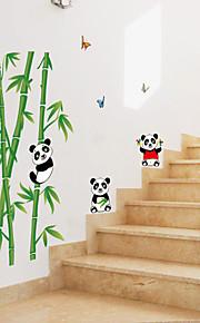 Dieren Botanisch Cartoon Muurstickers Vliegtuig Muurstickers Decoratieve Muurstickers,Papier Materiaal Huisdecoratie Muursticker