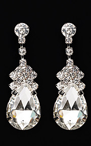 Women's Drop Earrings Rhinestone AAA Cubic Zirconia Vintage Classic Elegant  Earrings Jewelry For Wedding Anniversary Party