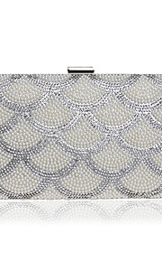 L.WEST Women's fashion pearl bride banquet dinner hand bags